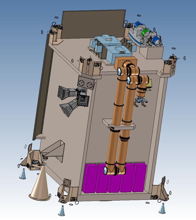 Exemple de Space Tug destiné au retrait actif de débris spatiaux